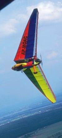 "Jazz 2000 ""parrot"" in a tight turn"